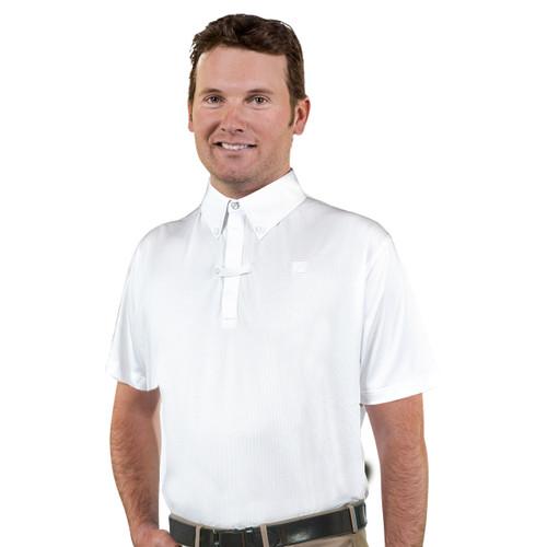 Romfh Men's Short Sleeve Show Polo - white