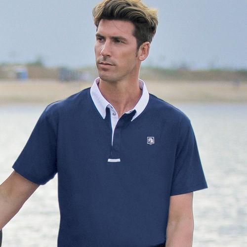 Romfh Men's Short Sleeve Show Polo - navy