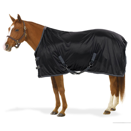 Centaur® Athletic Airflex™ Stable Sheet - black/charcoal/silver