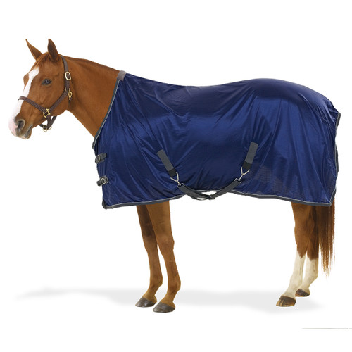 Centaur® Athletic Airflex™ Stable Sheet - navy/charcoal/silver
