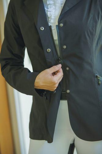 FITS Hydra Rain Show Coat - snap and hidden zipper