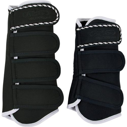 CATAGO Diamond Dressage Boots - black/white