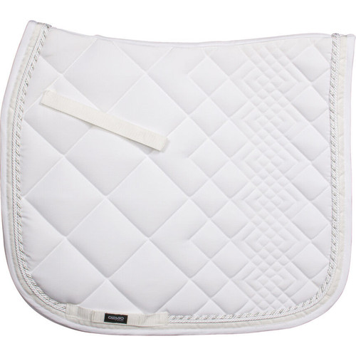 CATAGO Diamond Dressage Saddle Pad - white