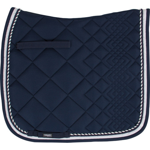 CATAGO Diamond Dressage Saddle Pad - navy