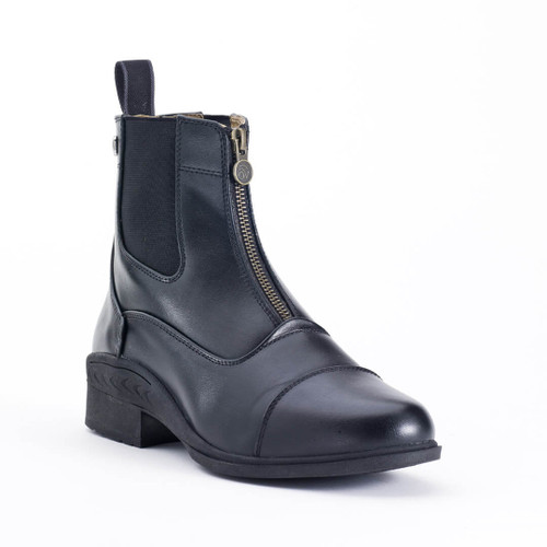 Ovation Quantum Child's Zip Paddock Boots - black