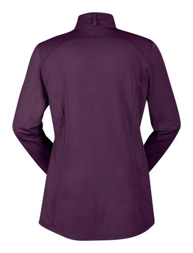 Kerrits Ice Fil® Riding Shirt - boysenberry - back