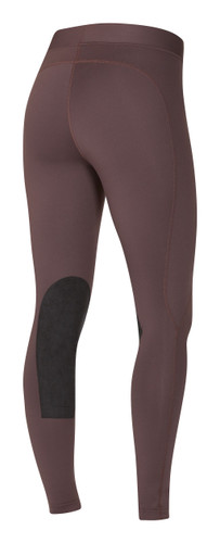 Kerrits Flow Rise Performance Riding Tights - fig - back