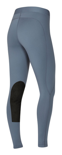 Kerrits Flow Rise Performance Riding Tights - blue shadow - back
