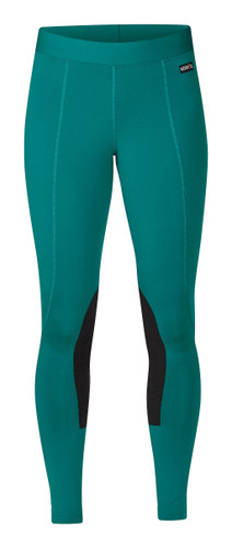 Kerrits Flow Rise Performance Riding Tights - emerald