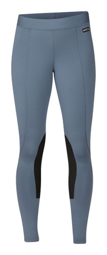 Kerrits Flow Rise Performance Riding Tights - blue shadow
