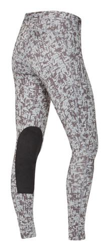 Kerrits Flow Rise Performance Riding Tights - horse mica mirage - back