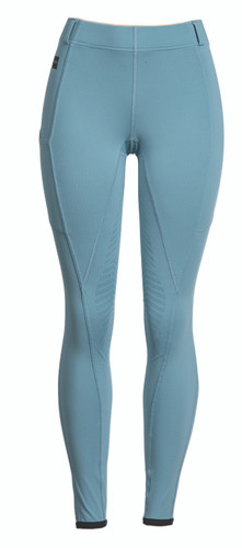 FITS TechTread Full Seat Pull On Riding Breeches - storm