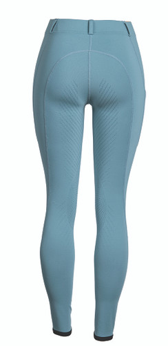 FITS TechTread Full Seat Pull On Riding Breeches - storm - back