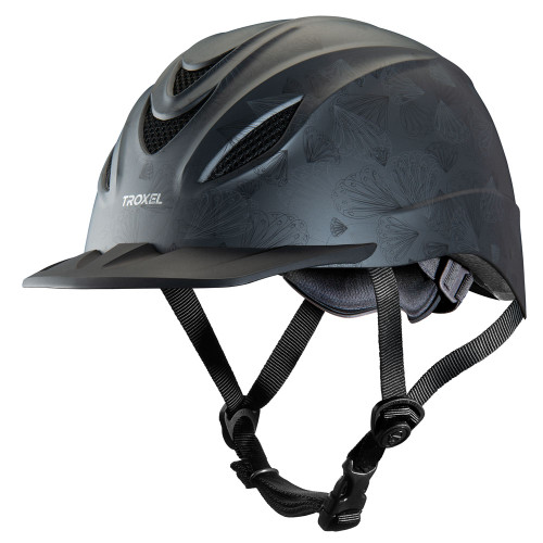 Troxel Intrepid Riding Helmet - grey petal