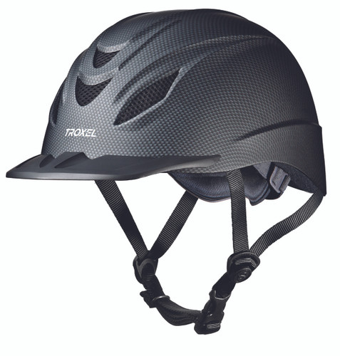 Troxel Intrepid Riding Helmet - carbon