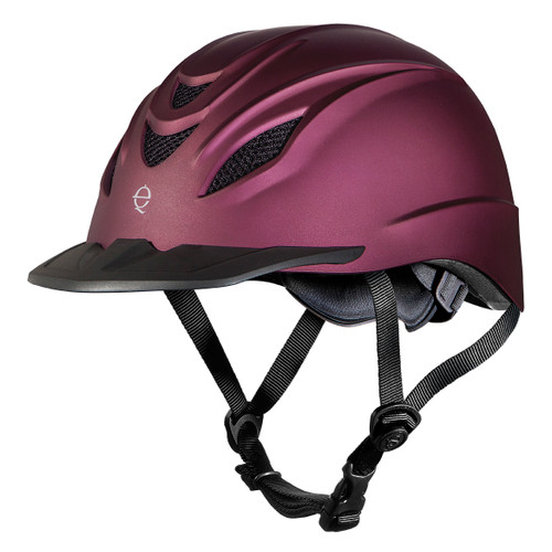 Troxel Intrepid Riding Helmet - mulberry