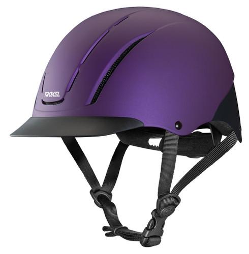 Troxel Spirit Riding Helmet - violet duratec