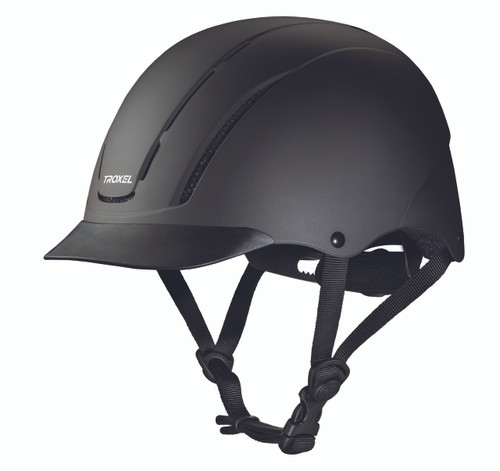 Troxel Spirit Riding Helmet - black duratec