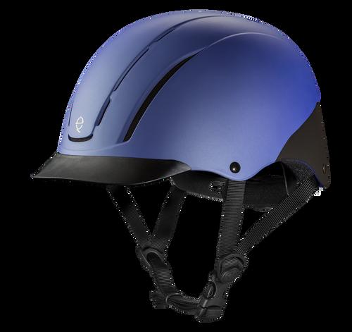 Troxel Spirit Riding Helmet - periwinkle duratec