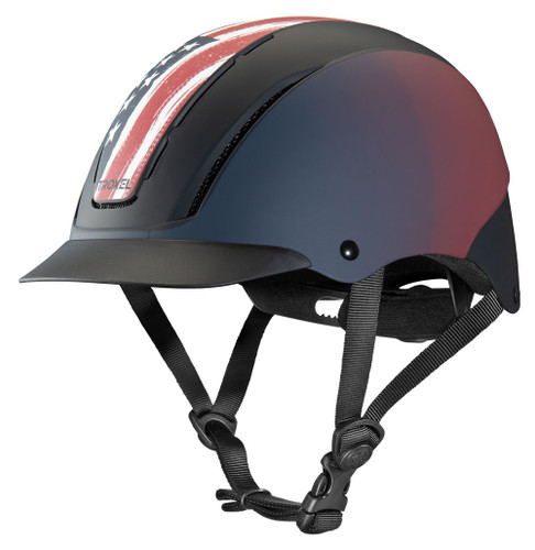 Troxel Spirit Graphic Riding Helmet - freedom