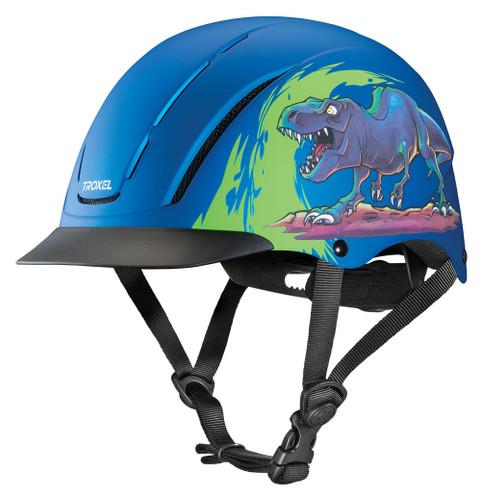 Troxel Spirit Graphic Riding Helmet - T-Rex
