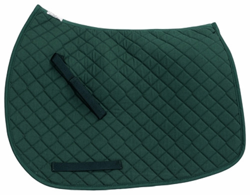 TuffRider Basic Dressage Saddle Pad - hunter