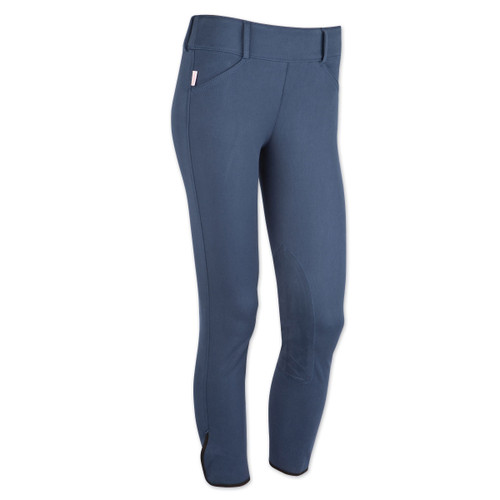 Tailored Sportsman Trophy Hunter Mid Rise Front Zip Breeches - french blue