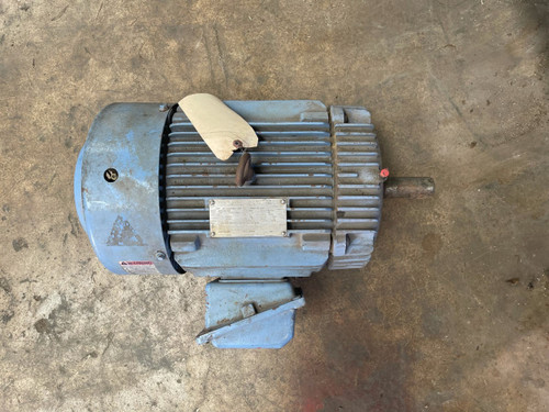 ***USED***HHI20-36-256T - Worldwide Electric Corporation AC Motors, HHI Series, TEFC,  3 PH, 256T, 208-230/460V, 20HP, 3600 RPM