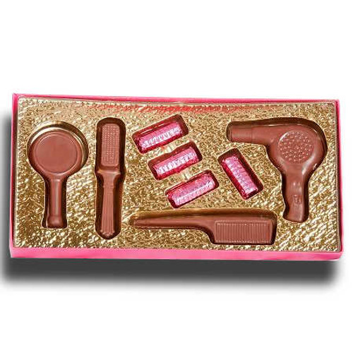 Chocolate Hairdresser Kit