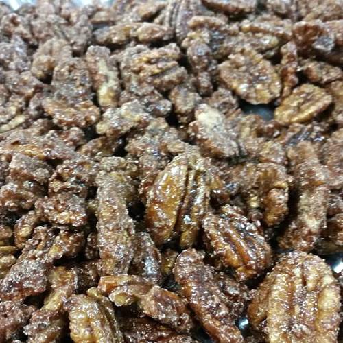 Bavarian Style Cinnamon Glazed Nuts