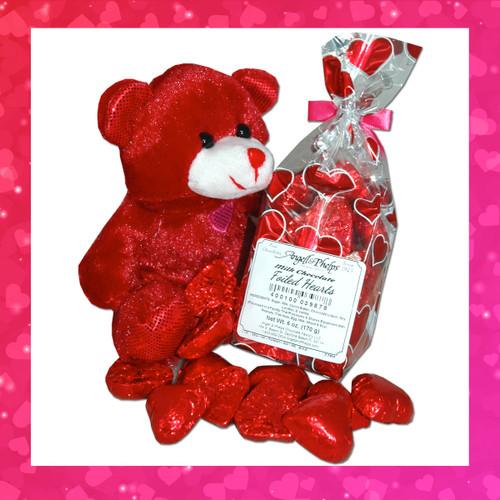 Foil Valentine Hearts