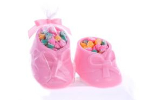 Chocolate Baby Bootie with Melty Mints
