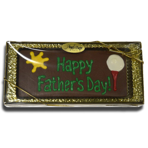Happy Fathers Day Chocolate Greeting Card