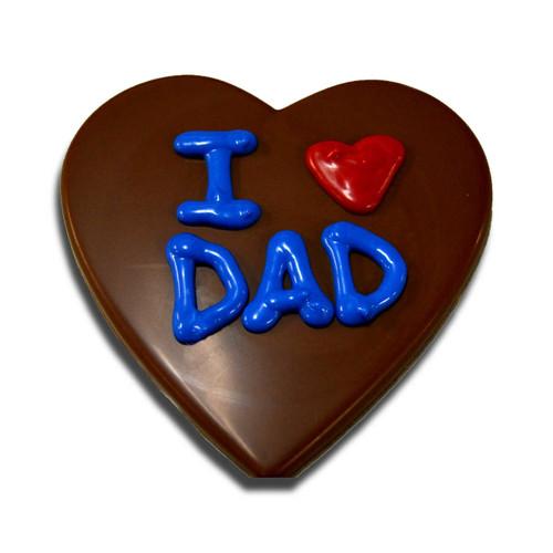 I Love Dad Chocolate Conversation Heart