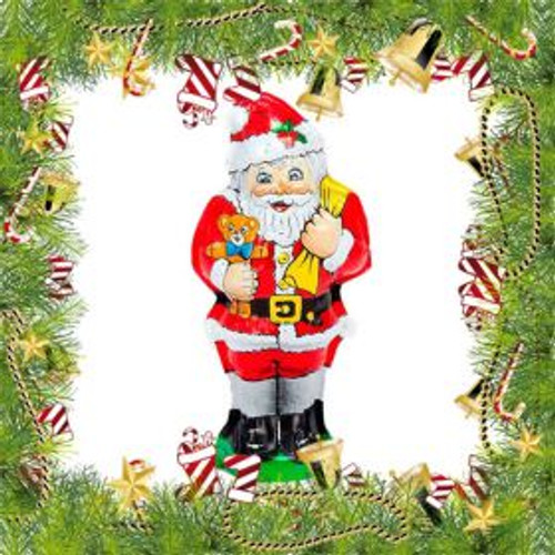 6 Inch Chocolate Santa