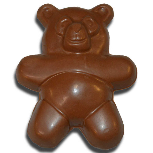 Chubby Chocolate Teddy Bear