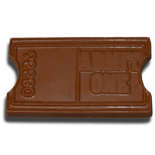 Chocolate Movie Ticket