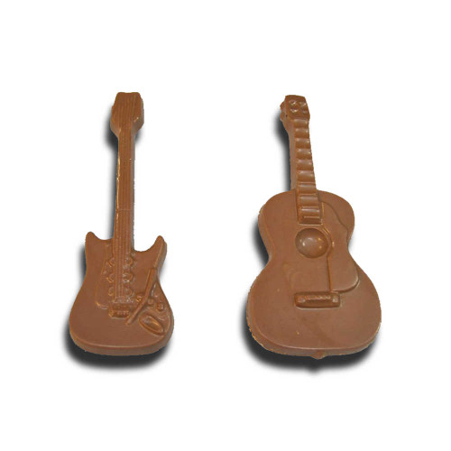 Chocolate Guitar Molds