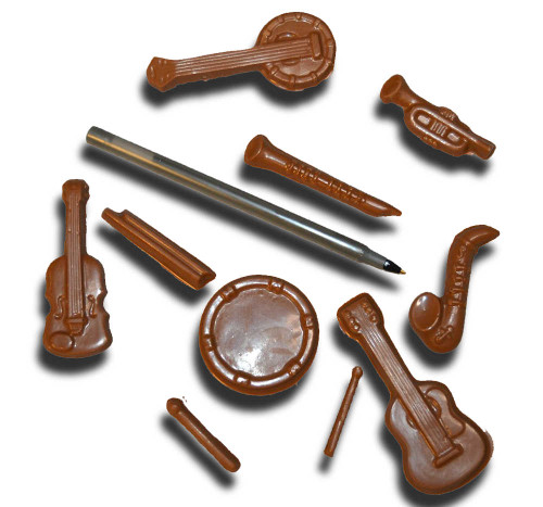 Chocolate Musical Instruments (Small)