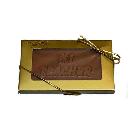 Teacher Chocolate Business Card