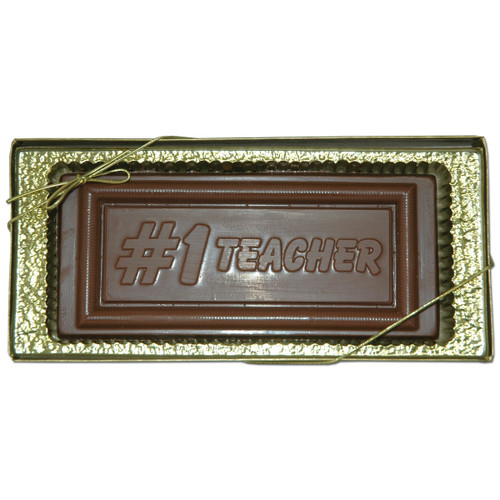 Milk Chocolate #1 Teacher 6 oz. Bar