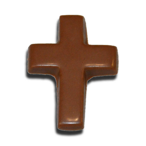 Chocolate Small Cross