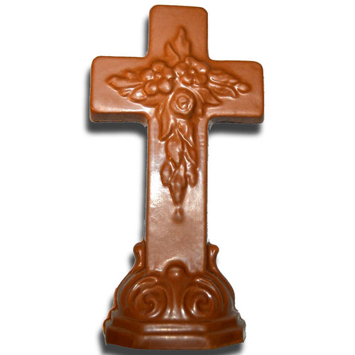 Chocolate Large Cross