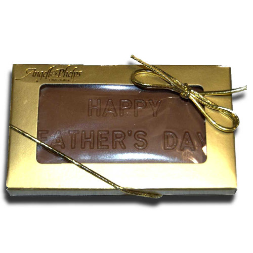Small Happy Fathers Day Chocolate Bar