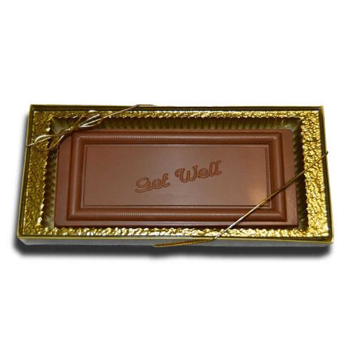 Large Get Well Chocolate Bar