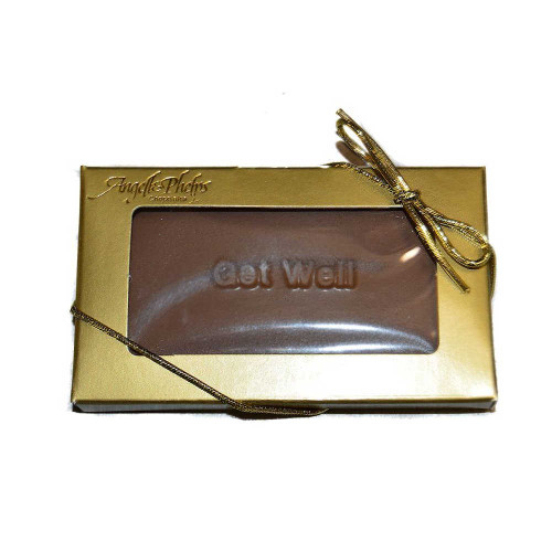Small Get Well Chocolate Bar