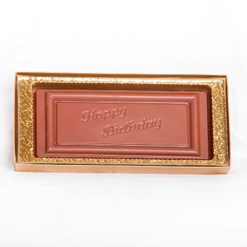 Large Happy Birthday Chocolate Bar