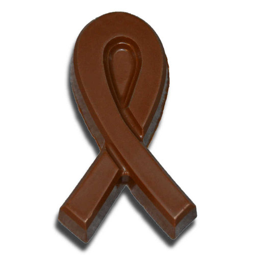 Chocolate Awareness Ribbon