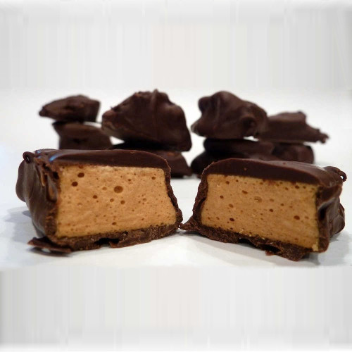Delicious Sponge Candy Covered In Chocolate