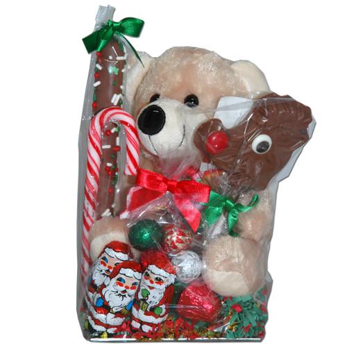Holiday chocolate gift bag
